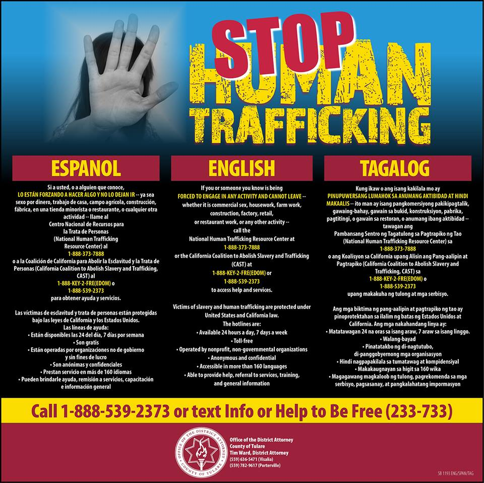 How you can help #EndTrafficking this month