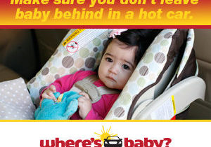 safety campaign poster courtesy of the National Highway Traffic Safety Administration